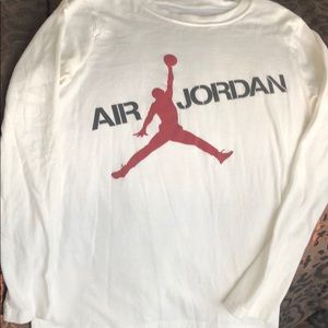 Boys Air Jordan jump man long sleeve